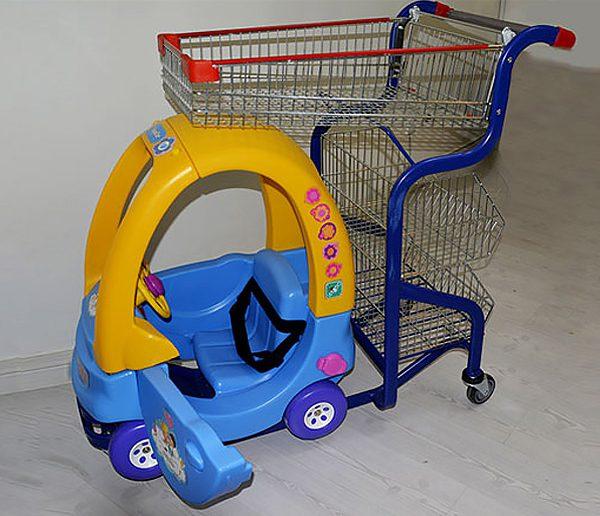 چرخ خرید کودک
