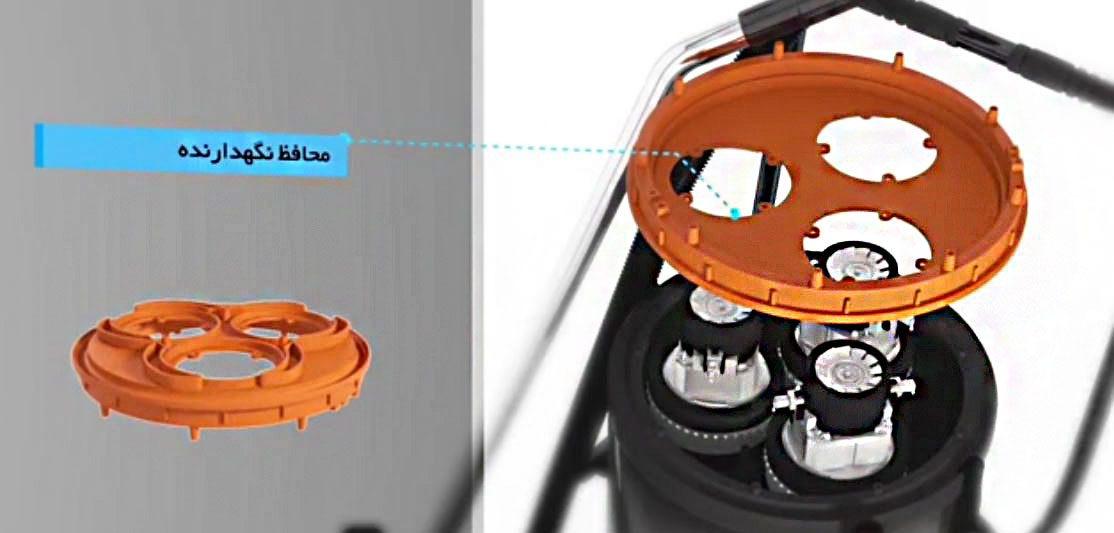 جاروبرقی صنعتی دو موتوره ماموت سری (آاگ ) AEG