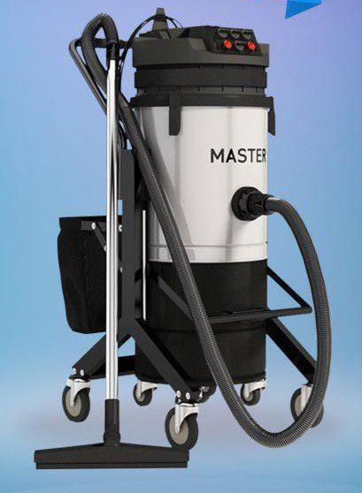 جاروبرقی صنعتی سه موتوره مستر اتوماتیک MASTER